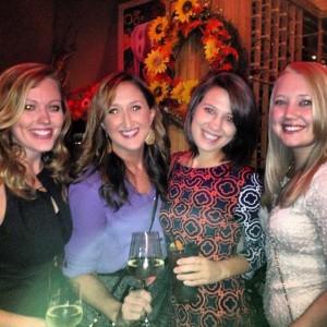 My Birthday last year with Michelle, Marissa, and Alexa